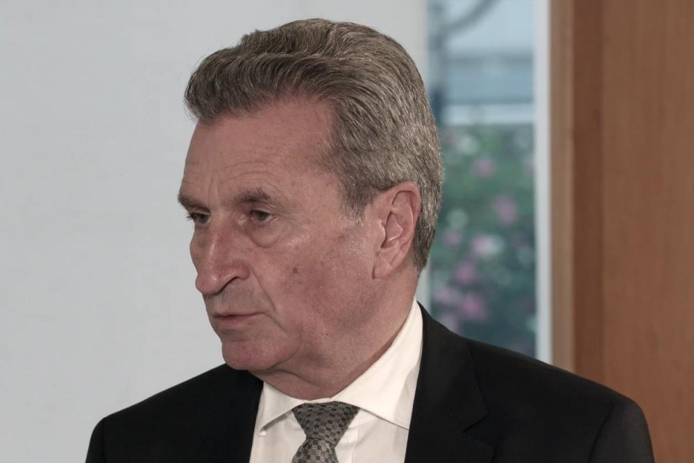 Güther Oettinger